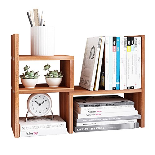 Declutter your home office with this desk rack.