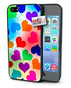 Colorful Heart Design for iPhone 4 or 4s
