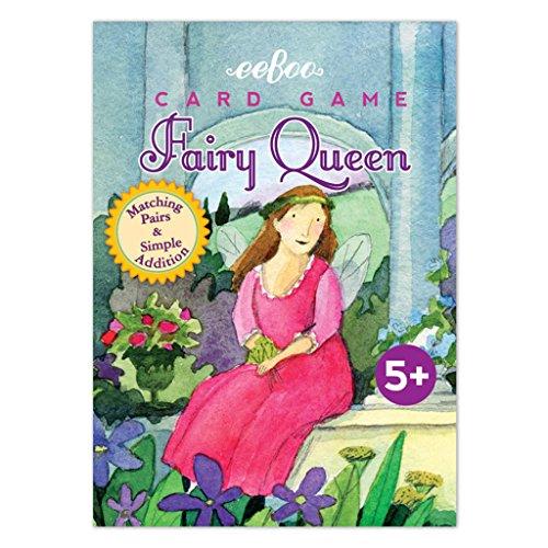eeBoo Fairy Queen Playing Cards, 1 EA ()