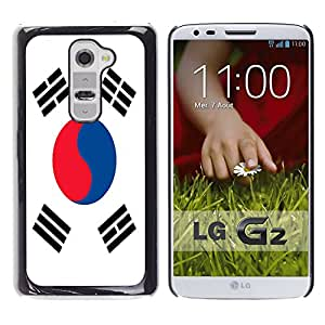- Flag - - Monedero pared Design Premium cuero del tir¨®n magn¨¦tico delgado del caso de la cubierta pata de ca FOR LG G2 D802 Funny House