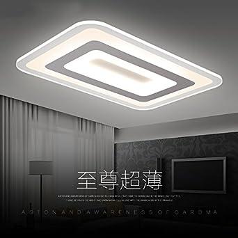 Ultra Dünnen Modernen Minimalistischen Wohnzimmer Leuchten Led Decke Leuchten  Schlafzimmer Beleuchtung Rechteckigen Raum Des Restaurants