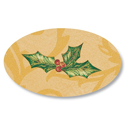 lly Holiday Gold Seals, 1 1/2 Inches, Self Adhesive, 30 Count ()