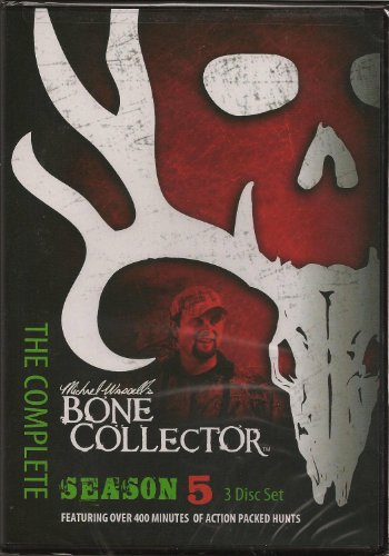 Bone Collector Tv Season 5 Complete 3 DVD Set Hunting Mike Waddell
