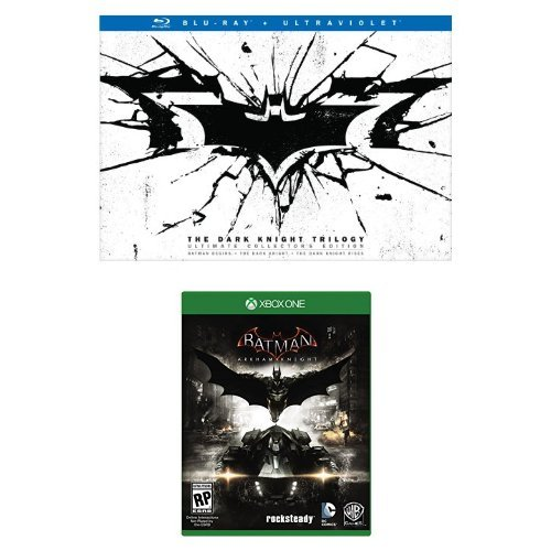 The Dark Knight Trilogy: Ultimate Collectors Edition + Batman Arkham Kight Xbox One