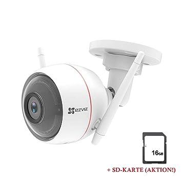 Leike CO67114 EZVIZ Husky Air - Cámara de vigilancia para Exteriores (1080p, HD,