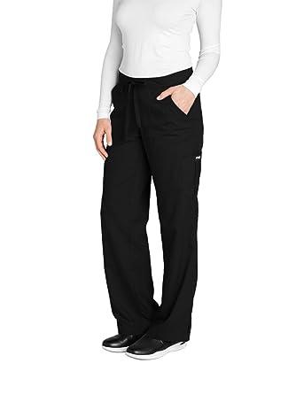Grey/'s Anatomy Women/'s 4232 Scrub Pant-Black