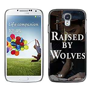 SHIMIN CAO- Dise?o Caso duro de la cubierta Shell protector FOR Samsung Galaxy S4 i9500 i9508 i959- Raised By Wolves