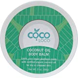 Coco Loco – Pure Vegan, Certified Organic Coconut Oil Body Balm 2 oz
