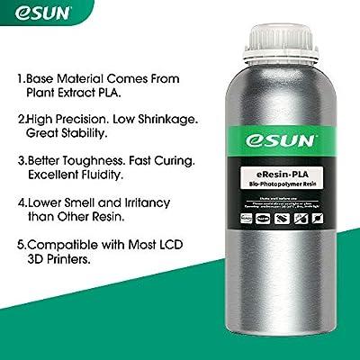 eSUN LCD UV 405nm Plant-based 3D Resina Rápida Resina ...