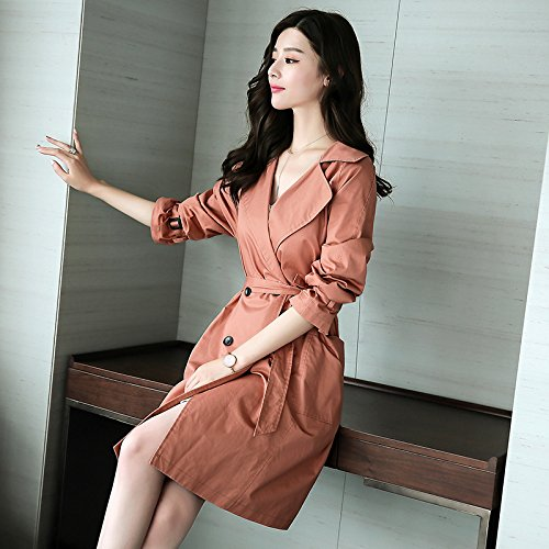 Coats amp; Casual SCOATWWH Long Replace Jacket Orange In Jackets Women'S Coat The Relaxd Students Women'S Women'S w7qzOC