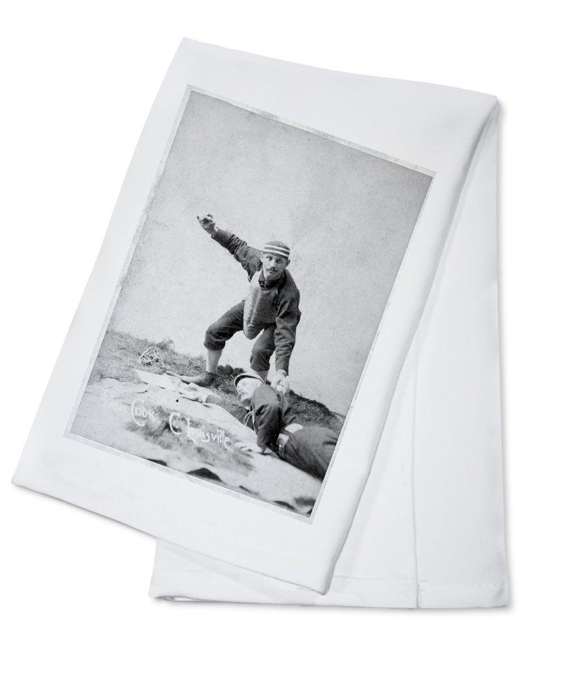 Louisville Colonels – ポールクック – 野球カード Cotton Towel LANT-22488-TL Cotton Towel  B0184B60RI