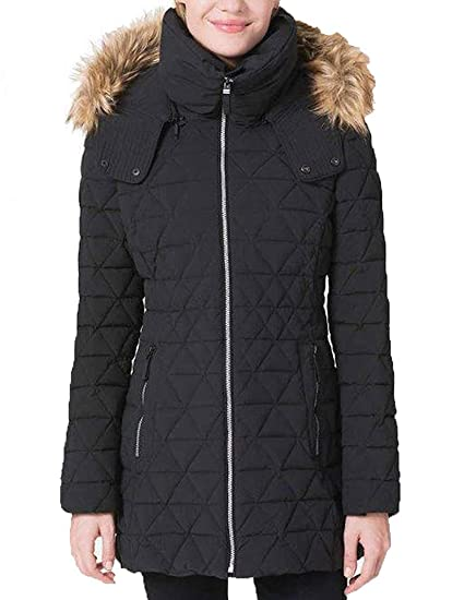 fb766b9ae Andrew Marc Ladies Quilted Jacket with Stretch
