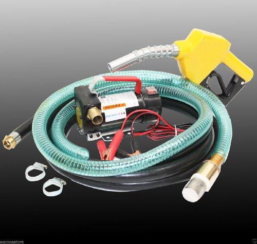 12v Diesel Kerosene Fuel Transfer Direct Pump Kit w/ Auto...