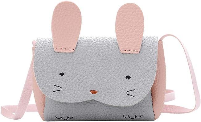 ?Mothers Day Gifts?Fashion Sequins Rabbit Ears Bucket Handbag Women PU Crossbody Shoulder Bags