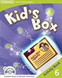 Kid's Box for Spanish Speakers  6 Activity Book with CD-ROM and Language Portfolio - 9788483237922