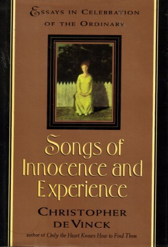 innocence and experience essay Essay questions choose three songs of innocence and show how they exemplify blake's understanding of innocence compare and contrast the lamb and the tyger comment on blake's portrayal of children and childhood in the songs of innocence and experience.