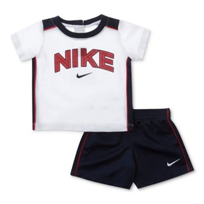 142af5a91 Amazon.com: Nike Little Boys Red White & Blue 2 Piece Shorts & T ...