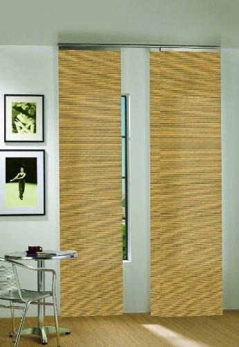 Schiebegardine holz stroyreestr - Bambus schiebevorhang ...