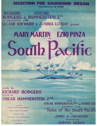 Selection for Hammond Organ from South Pacific