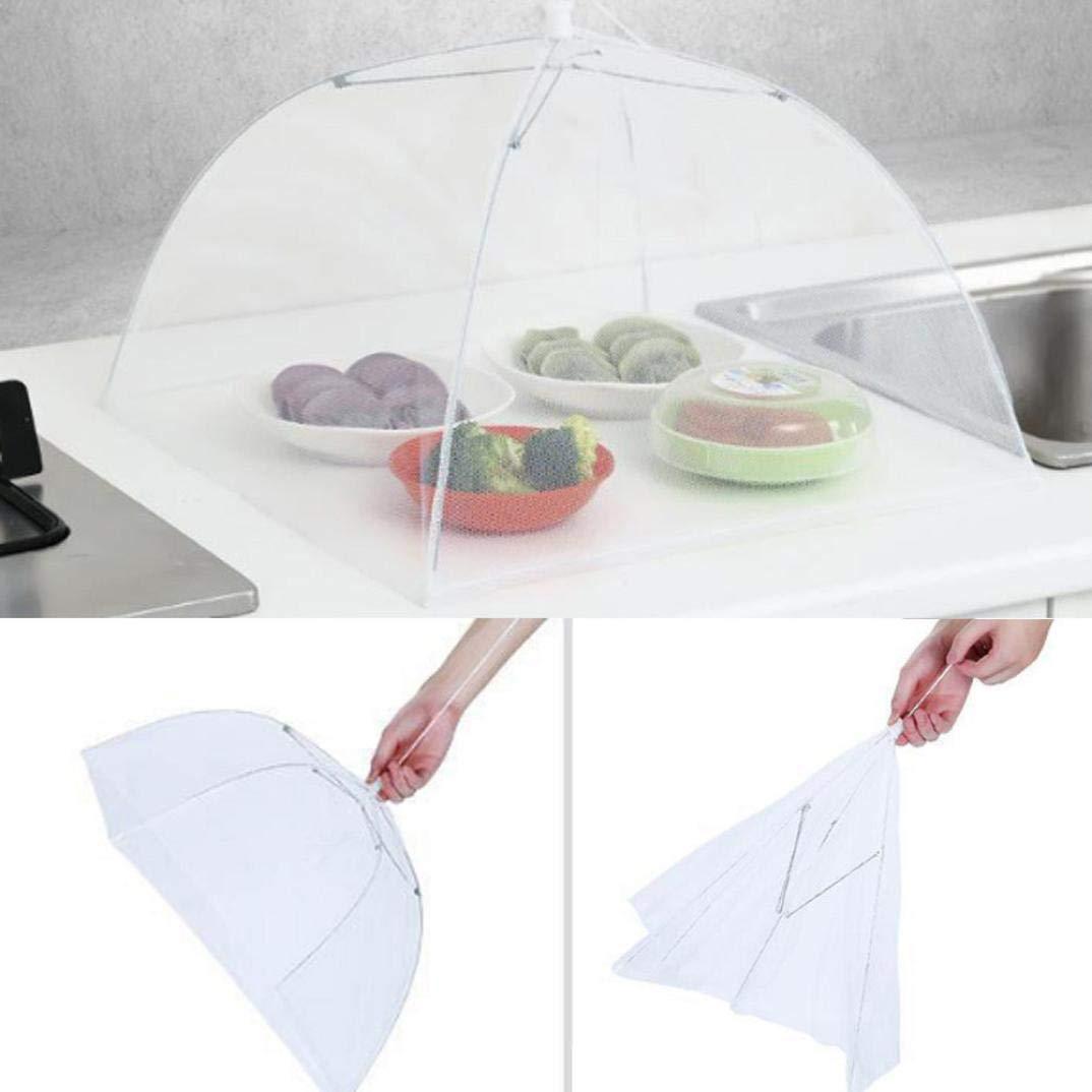 Creazy 1pcs Large Pop-Up Mesh Screen Protect Food Cover Tent Dome Net Umbrella Picnic