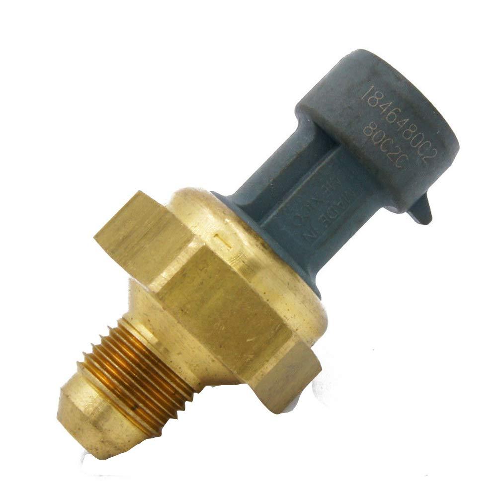 Ford Powerstroke 6.4L 2008-2010 Replaces #1846480C2 EBP Exhaust Back Pressure Sensor for 2007-2010 Navistar MaxxForce DT//9//10 Engine 8C3Z9J460A