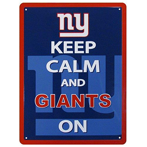 NFL New York Giants Keep Calm Sign]()