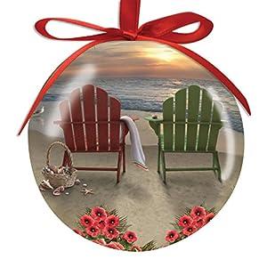 51V%2BBnJFOtL._SS300_ 500+ Beach Christmas Ornaments and Nautical Christmas Ornaments