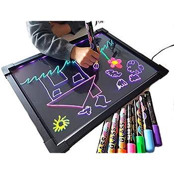 Amazon.com : DEEDEEDA LED Message Writing Board, Neon Glow