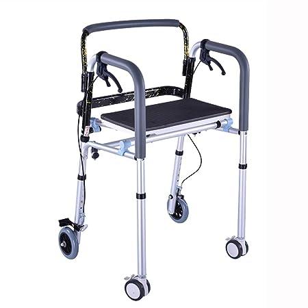 CCJW Andador para discapacitados Andar para Caminar Silla de ...