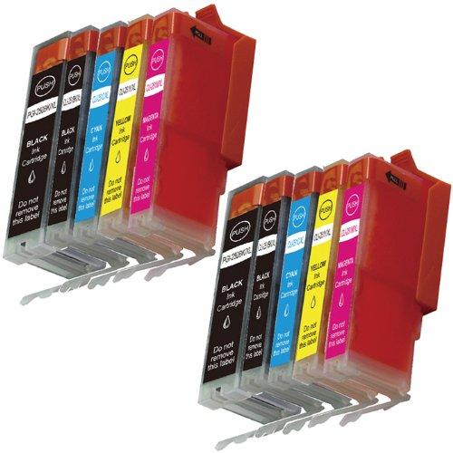 hi-visionr-10-pk-compatible-canon-pgi-250xlpgi-250cli-251xlcli-251-xl-high-yield-ink-cartridge-repla