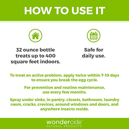 Wondercide Natural Indoor Pest Control Home and Patio Spray 32 oz Peppermint by Wondercide (Image #4)