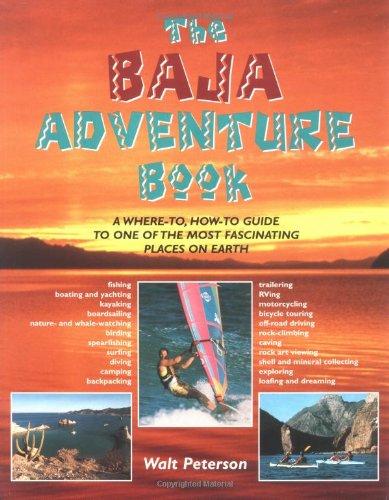 Map Baja Peninsula Mexico (Baja Adventure Book)