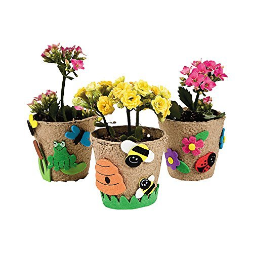 Garden Pot Craft Kit 12 Kits ()