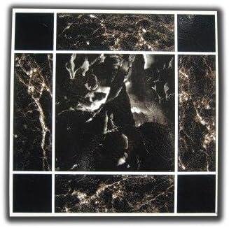 Braun Selbstklebende Bodenfliesen Vinyl 50 St/ück