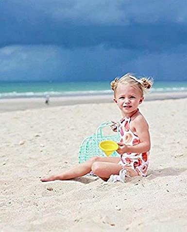 Seaby One Piece Bathing Suits Swimsuit Summer Swimwear with Donut Print for Girls for 0-3T