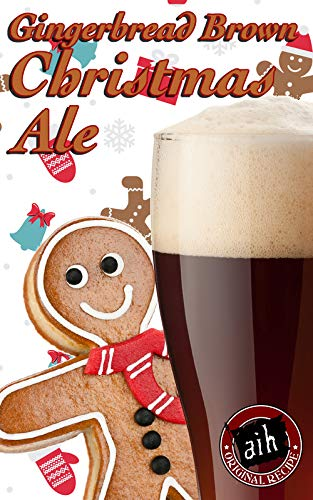 Adventures in Homebrewing Gingerbread Brown Christmas Spiced Ale ()