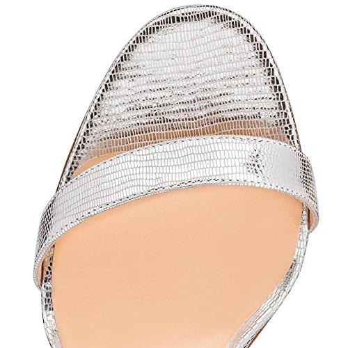Elegant high shoes Frauen Transparent High Heels Schuhe Sommer/Herbst Heels/Plattform/Party & Abend/Kleid White