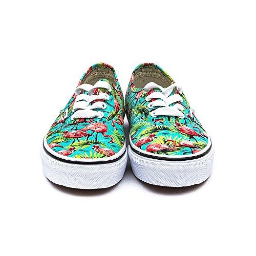 Vans K Authentic, Zapatillas de Estar por Casa Unisex Niños Azul Claro