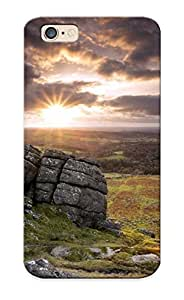 Appearance Snap-on Case Designed For Iphone 6- Nature Landscapes Meadow Fields Mountains Sky Clouds Sunset Sunrise Lakes (best Gifts For Lovers)