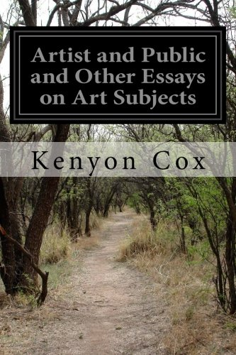 Artist and Public and Other Essays on Art Subjects pdf