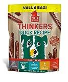 PLATO Dog Treats - Thinkers Natural Duck Sticks- 22 oz