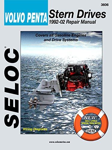 Sierra International Seloc Manual 18-03606 Volvo/Penta Stern Drives Repair 1992-2002 Gasoline Engine & Drive System