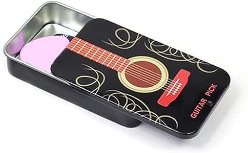 Seasaleshop Púas Guitarra con Púas, Caja Pequeña Portátil con ...