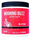 New Health Morning Buzz Daily Energy Drink - Pre Workout and Mood Boost - Mental Focus, Immune...