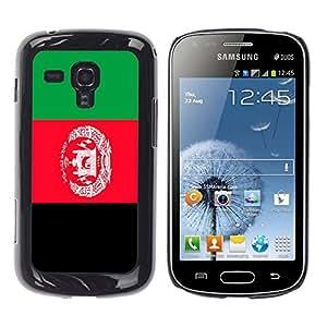 - Flag - - Monedero pared Design Premium cuero del tir¨®n magn¨¦tico delgado del caso de la cubierta pata de ca FOR Samsung GALAXY Trend Duos S7562 Funny House