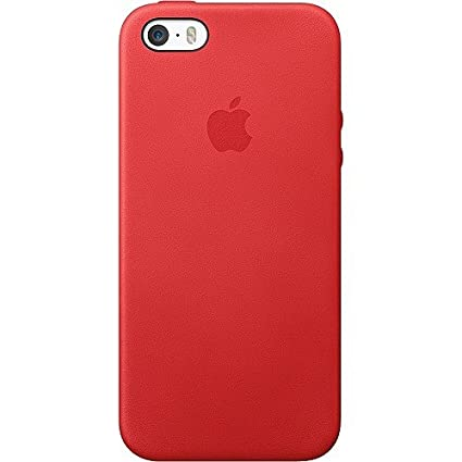 1c6e436163 Image Unavailable. Image not available for. Colour: Apple Authentic Leather  Case for Apple iPhone 5/5s/SE ...