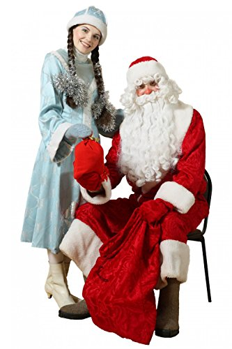 Russian Ded Moroz Costumes - Wallmonkeys WM305495 Russian Christmas Characters: Ded