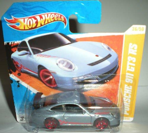 Hot Wheels 2011, 2011 HW Premiere 36/50, Porsche 911 GT3 RS, Short Card 36/244 - Porsche 911 Turbo Gt3