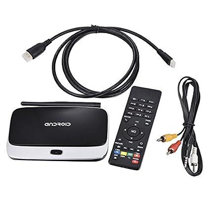 Android 4 4 TV Box Q7 CS918 Full HD 1080P RK3188T Quad
