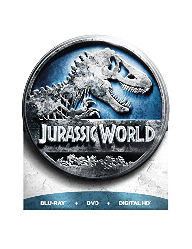 Blu-ray : Jurassic World (Limited Edition, With DVD, Ultraviolet Digital Copy, Collector\'s Edition, Tin Case)